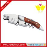 Color Wood Wine Corkscrew,With a Comfortable Rosewood handle,Wine And Beer Bottle Opener For Bartenders, Waiters