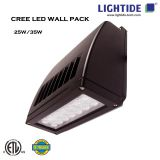 Lightide Slim Full Cut-off, CREE LED Wall Pack 25w
