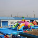 Giant inflatable water park ax-07