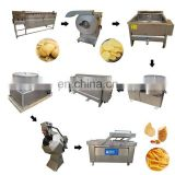 Taizy potato chips processing line/fresh fries making line