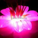 LED lighting giant fabric inflatable flower for wedding decoration