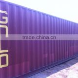 40'GP used cargo worthy shipping container with low price