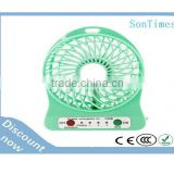 High speed 12 volt green rechargeable ceiling mini dc brushless cooling fan for usb/computer