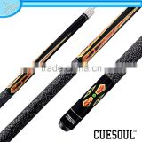 CUESOUL Hot Quick Release Ash Shaft 1/2 Pool Cue,Stainless Steel Joint , Rubber Wrap