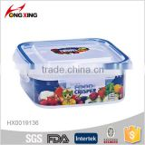 500ML rectangle microwave safe airtight box / seal box / food container                                                                                                         Supplier's Choice