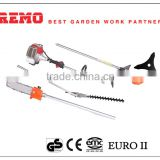 multifunction agricultural tools and uses for farming gasoline brush cutter pole pruner saw
