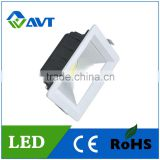 Super bright reflector COB led wok down light recessed led downlight, 20w integrated cob led down