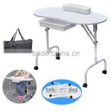 Hot sale used manicure table nail salon furniture