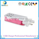 Actual Output 5V 2A US Plug Wall Travel Charger Adapter With IC control For Samsung iPhone HTC