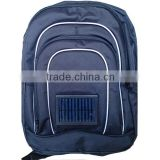 Classical Design Polyester Solar Panel Backpack Bag
