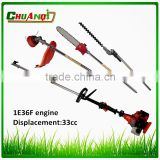 Agricultural spare parts 1e36f shaft for brush cutter 2 stroke