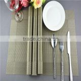 new arrival table decoration PVC mat frame series dark green dining table floor mat 45*30cm