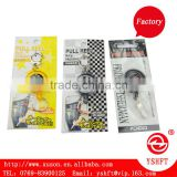 round retractable lanyard badge holder yoyo with blister packing for students and business