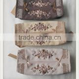 hotel decorative hand embroidery tissue box cover                                                                         Quality Choice