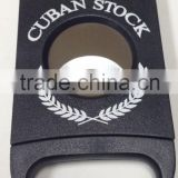 187A custom black cigar cutter