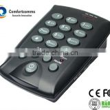 Professional call center standard headset telephone with redial/flash/mute CHT-800