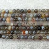 cheap gemstone natural round Botswana agate loose beads different size available