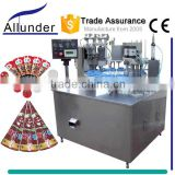 Rotary Automatic Cone Cup Ice Cream Filling Machine                                                                         Quality Choice