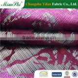 miaoshi stripe velour decorator fabric for furniture upholstery