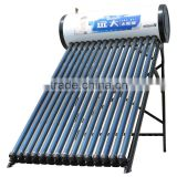 integrated pressure evacuated tube solar water heater solar energy