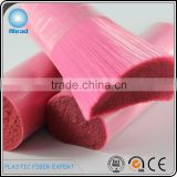0.30mm pink brilliant PET bristle from professional monofilament manufacturer
