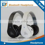 Newest design custom sport stereo silent disco mp3 wireless bluetooth headphone