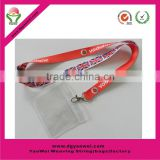 2016 new fashion high quality red 2cm width cute id badge holder sublimation lanyard                                                                         Quality Choice