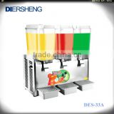 3 Tanks Electric Cold Fruit Juice Dispenser for Sale,Refrigerant Used Juice Dispenser Factory Prices