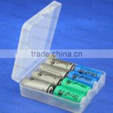 18650 CR123A Cylinder Lithium battery box Plastic Battery Case storage Box Holder Packing 14500 battery box