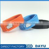New Design Waterproof Electronic Bracelet With Task Alert Vibration And Calorie Recording