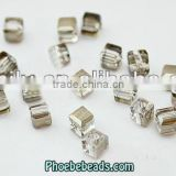 Wholesale Hot Sale Jewelry Accessories 4mm Transparent Square Crystal Beads In Bullk PB-CB024