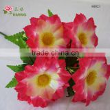 18cm diameter big silk flower for funeral grave or memorial day