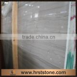 Chinese Arsen Grey Wooden Marble Slabs Tiles