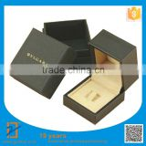 2016 NEW Luxury Handmade Custom Logo Printed Paper Jewelry Gift Box , Ring Box, Necklace Box