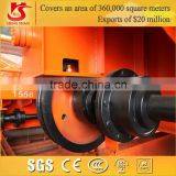 Hot Forged bridge cranes wheels supplier