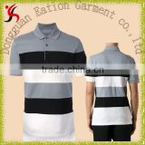 stylish classic stripe vintage varsity polo t-shirt for men