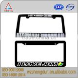 vietnam veteran Plastic car license plate frame/zinc alloy license plate holder/Stainless steel license plate cover                                                                         Quality Choice