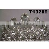 prom glitter crystal jewelry kings crowns for sale