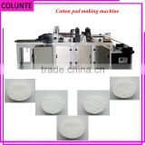 High quality cosmetic round cotton pad making machine                                                                                                         Supplier's Choice