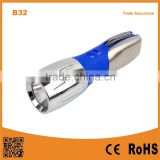 B32 1W LED Bulb steel pocket tool with LED Multi Function Tools Flashlight for outdoor camping .