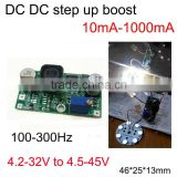 Universal LED constant current booster module current PWM adjustable potentiometer touch light regulating LED driver