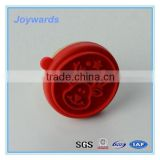 Christmas Cute Shaped Reusable Silicone Cookie Stamp Custom shape