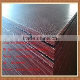 China Shandong Manufacturer combi core wire mesh bus flooring anti slip film faced plywood