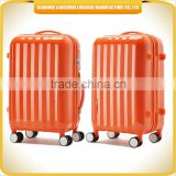 Best seller 2014 ABS trolley luggage high quality colorful travel luggage set fashion ABS luggage