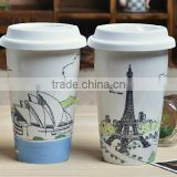 High Quality Factory Price clear pyrex glass coffee cup