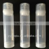 HOT SALE 150ml transparent airless bottle with pump sprayer with good quality only 0.525usd per set