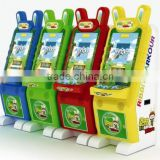 new ribbit parkour win coin pusher game machine/coin pusher amusement machine