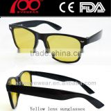 cheap yellow lens glasses night vision goggles night vision lunettes yellow lens sunglasses
