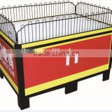 RH-PT019 longth 1000mm or 1200mm Fashion Design Metal Steel Promotion Display Stands Table for Supermarket