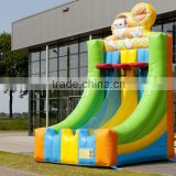 Factory price giant inflatable basketball hoop for sale
